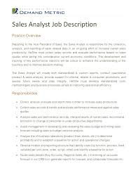 It Business Analyst Job Description Resume by Sales Analyst Job Description 1 728 Jpg Cb U003d1354789675