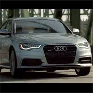 audi a6 tv luxury daily