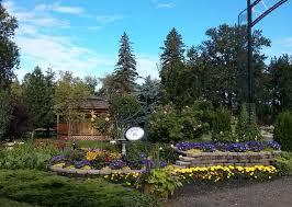 St Albert Botanical Gardens Entrance Garden St Albert Botanic Park