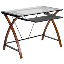 tempered glass computer desk 137 enchanting ideas with flash in
