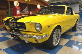 Mustang Fastback Black 1965 Ford Mustang 2 2 Fastback K Code U2013 Yellow Black U2013 A U0026e