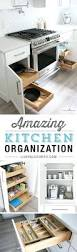 kitchen organization ideas for storage on the inside of cabinets
