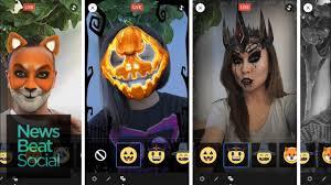 facebook debuts live u0027masks u0027 for halloween youtube