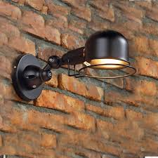 Vintage Bathroom Vanity Lights Black Vintage Wall Lamps Bedroom Sconce Wall Mounted Bedside