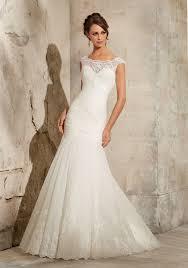 Wedding Dress Designers Uk Alencon Lace On Soft Net With Wide Hemline Morilee Bridal Wedding