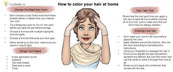 how to color your hair at home beauty care articles well being