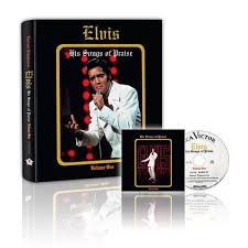 elvis his songs of praise ftd book and cd set graceland official