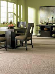 Carpeted Dining Room Dining Room With Carpet And Modern Furniture