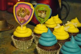 kroh u0027s nest paw patrol cupcakes