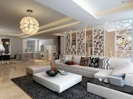 living room white sofa white tile flooring black glass coffee