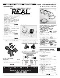 engine parts and accessories real gasket