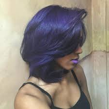 black women with purple hair 50 best african american short hairstyles black women 2017