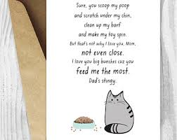 mothers day card funny instant download card for cat moms