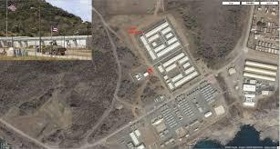 Guantanamo Bay Map Eyeballing Guantanamo Detainee Facilities