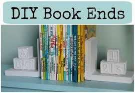 diy book ends nursery series jessica joaquin youtube