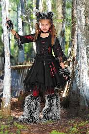 werewolf costume for girls chasing fireflies