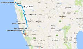 Goa Map Mumbai To Goa Road Map India Travel Forum