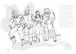 You Know The Book Wizard American Ren From Bebo Pandco Wizard Of Oz Coloring Pages