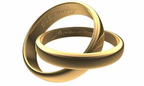 interlocked wedding rings photo gallery of interlocking wedding bands viewing 5 of 15 photos