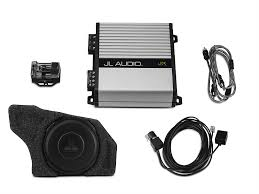 jl audi raxiom mustang by jl audio base stereo subwoofer upgrade kit