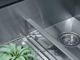 K Vault Smart Divide UnderMount LargeMedium Kitchen Sink - Kohler stainless steel kitchen sinks undermount