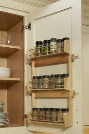 kitchen cabinet door storage racks door mount spice rack add wall cabinet storage