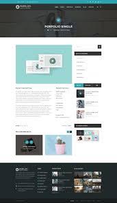 Elements Home Design Portfolio Babilon Creative U0026 Portfolio Psd Template By Shine Design