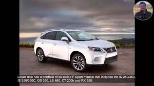 lexus rx 350 for sale columbus ohio 2013 lexus rx 350 f sport review youtube