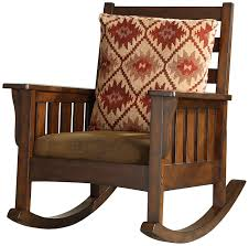 amazon com furniture of america oria rocking chair dark oak