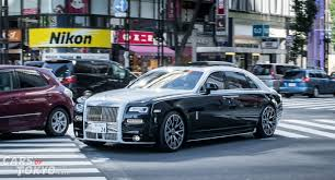 rolls royce ghost mansory 20 luxury cars in tokyo cars of tokyo part 2