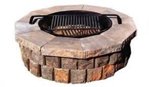 Square Fire Pit Kit by Fantastic Fire Pit Insert 24 Square W Grate Garden Landscape