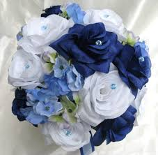 white blue roses navy blue white periwinkle roses and dreams