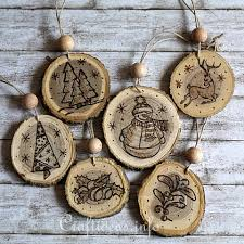 wood burned ornaments diy tutorial i actually gave out