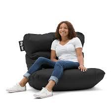 Big Joe Bean Bag Chair Zebra Amazon Com Big Joe Roma Chair Limo Black Kitchen U0026 Dining