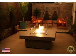 40 fire pit santa barbara square fire pit table from so cal collection