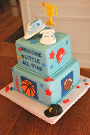 sports themed baby shower cake ideas zone romande decoration