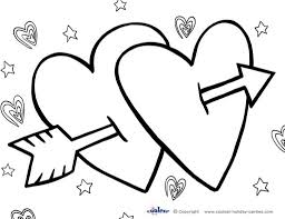 valentine day printable coloring pages preschool coloring pages