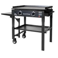 Backyard Grill 2 Burner Gas Grill by Blackstone 28 In 2 Burner Propane Gas Grill In Black With Griddle