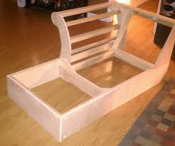 how to build sofa couch for travel trailer table plans bedhow