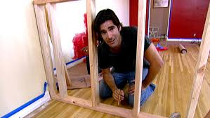 How To Build A Dividing Wall In A Room - pony wall video hgtv