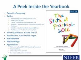 yearbook programs webinar state preschool programs annual yearbook update