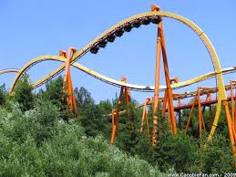 6 Flags Saint Louis Tatsu Roller Coaster Six Flags Magic Mountain Want To Go On This
