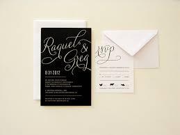 contemporary wedding invitations contemporary wedding invitations rectangle black white artistic