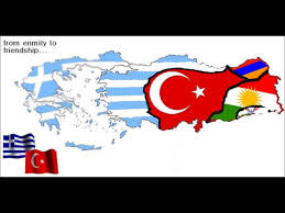 Greece Turkey Map by What If Greece And Kurdistan Conquered Turkey 2 Youtube