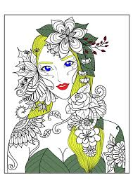 difficult halloween coloring pages zen and anti stress coloring pages for adults justcolor