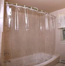 Clawfoot Tub Shower Curtain Liner Bathtubs Mesmerizing Bathtub Curtain Rod Images Tub Shower