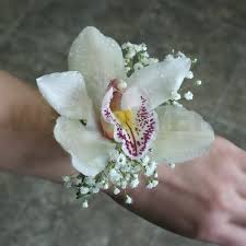 Orchid Corsage White Cymbidium Orchid Corsage W Flowers Ottawa