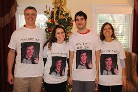 Customized Memes - bought my family customized t shirts with my face on them they