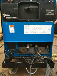 miller syncrowave 350 lx ac dc water cooled tig welding machine