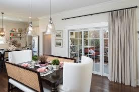 image of wonderful window treatment ideas for sliding glass doors